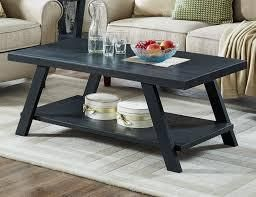 Athens Contemporary Replicated Wood Shelf Coffee Set Table  Retail 251 99
