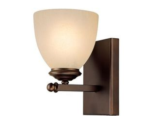 Chapman 1 light Burnished Bronze Wall Sconce