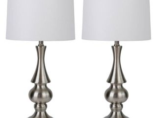 lynde Metal Table lamp   Set of 2