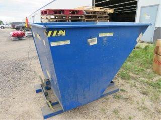Vestil D-200LD self-dumping dumpster