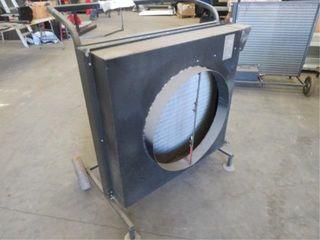 Desert Air Hot water Radiator 38in.x37in. on cart