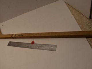 Mini Wooden Hockey Stick signed by Montreal