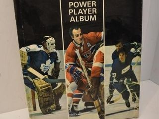 Esso NHL Power Plater Album (Not Complete)
