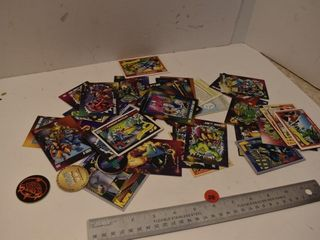 Comic Book Cards and Pogs