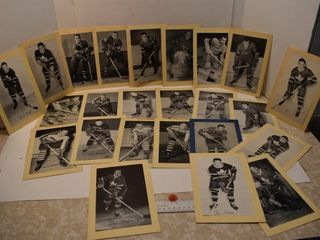 24 - Vintage Bee Hives NHL Photos