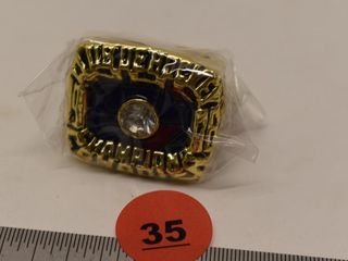 1976 Montreal Canadiens NHL Champion replica ring