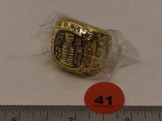 1979 Stanley Cup Replica Ring (Jean Beliveau)