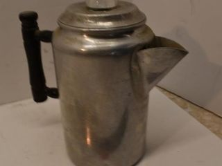 Aluminum coffee pot