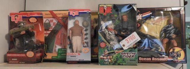 Lot #3760 -GI Joe Action Figure lot: Save the