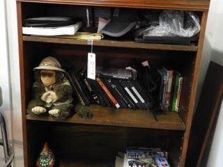 Lot #3774 -Mahogany Bookshelf and Contents: