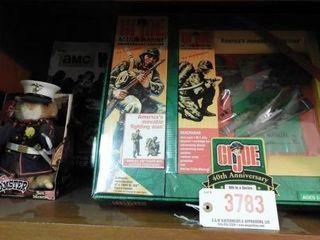 Lot #3783 -(2) GI Joe 40th Anniversary Action