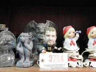 Lot #3784 -Selection gargoyle figures, figurines