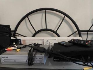 Lot #3792 -Samsung Blu-Ray Player with remote
