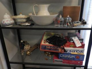 Lot #3793 -Selection of Board games, brass