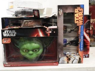 Lot #3755 -Collection of Star Wars Toys to