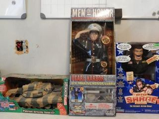 Lot #3756 -Men of Honor Military Heroes action