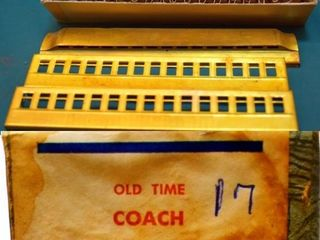 Old Time Brass Coach Kit Mantua 501 HO