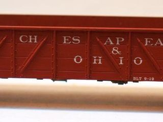 Chesapeake & Ohio 29801 Gondola Walthers HO