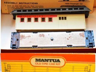 B&O Overton Combine Mantua HO Scale