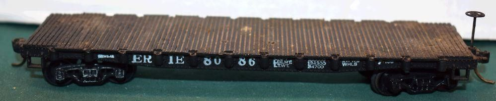 Erie 9086 Flat Car HO Scale