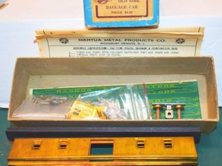 Old Time Brass Baggage Kit Mantua HO