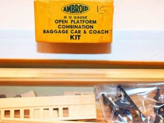 Open Platform Wood Combine Kit Ambroid HO