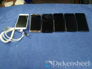 (6) Samsung smart phones lot-
