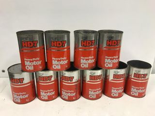 Co-op HD 7 oil tins