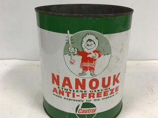 Nanook antifreeze tin