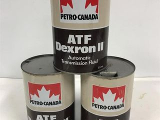 Petro-Can oil tins