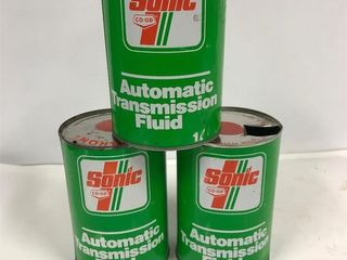 Co-op Sonic oil tins