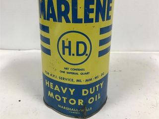 Marlene oil tin