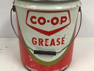 Co-op Grease pail. No lid