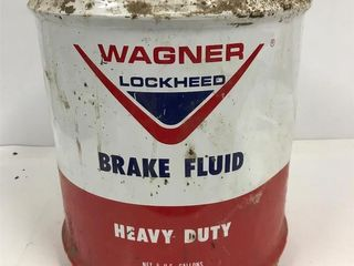 Wagner brake fluid pail