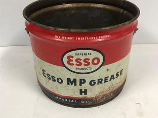 Esso MP grease pail