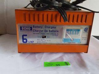Sm Echo battery charger. Works. 12v or 6v. The
