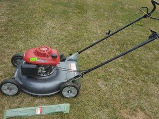 Honda HRS 216 easy start push lawn mower. Runs