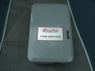 Dayton 24hr Time Switch