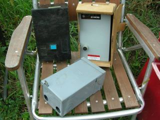 3 Electric Control-Power Boxes