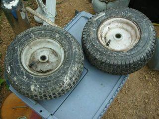 Pair of 13x5.00-6 Utility Wheels