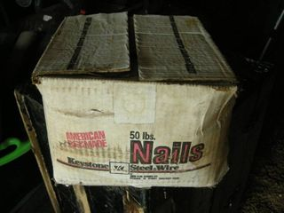 Box #8 Hi-Bond Sinker Nails