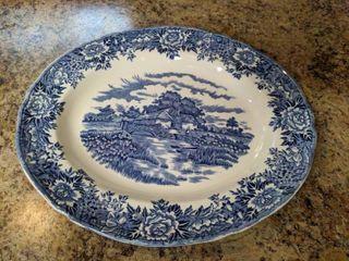 English Village By Salem China Co. Plate