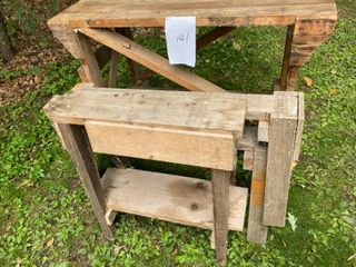 Shop Bench/Saw Horses