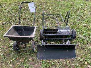 Push Spreader/Sweeper/Shovel