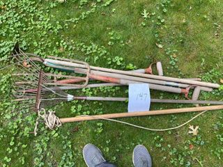 Pitch Forks/Garden Tools