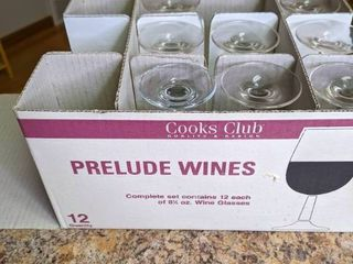 Prelude Wine Glasses by Cooks Club