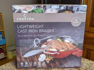 Crofton Light Weight Cast Iron Braiser