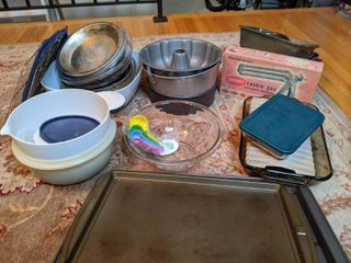 Lot of Misc Baking Items