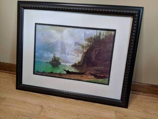 Albert Bisertadt Framed Artwork