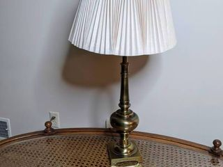 Brass Lamp with Lamp Shade